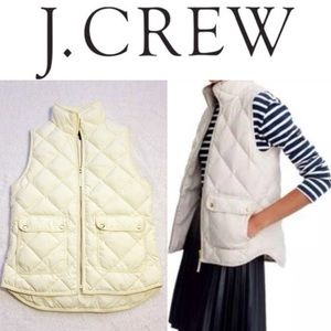 J. Crew Excursion Down Filled Quilted Vest